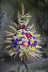 Dekorácie - Sušená kytica - 9697145_