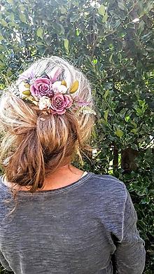 Ozdoby do vlasov - Hrebienok do vlasov - 9697960_