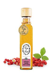 Drogéria - Prírodný šampón Lesná jahoda - 9697844_