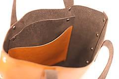 Veľké tašky - Kožená kabelka Sue (big bag Crazy Horse) - 9697146_
