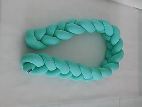 Úžitkový textil - Mantinel 80cm mint a ďaľsie farby - 9698049_