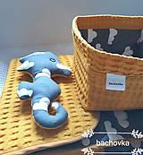 Textil - Detský set okrový (horčicový) - 9698746_