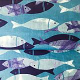 Textil - Dunaj, 100 % bavlna z Francúzska, šírka 160 cm - 9697785_