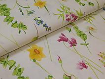 Textil - Látka jarná lúka - 9697051_