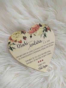 Darčeky pre svadobčanov - Magnetka ako poďakovanie pre rodičov - 9696979_