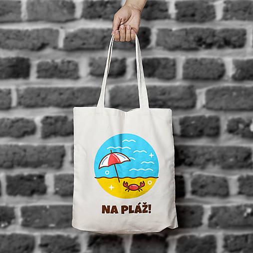 Na pláž! (bavlnená taška)
