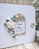 Papiernictvo - Svadobná kniha - fotoalbum - 9697690_