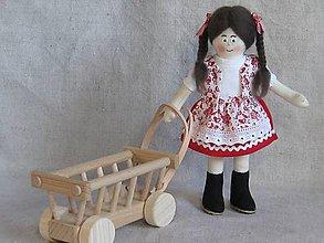 Hračky - Klárika, bábika v kroji - 9698265_