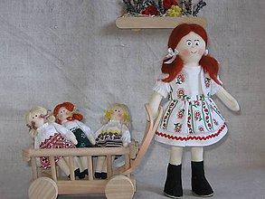 Hračky - Zuzanka, bábika v kroji - 9698285_