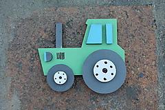 Detské doplnky - 3D magnetka traktor - 9697472_