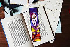 Papiernictvo - Balónik v údolí - fialová záložka - 9696353_