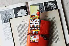 Papiernictvo - Vesmírny knihomoľ - oranžová - 9696395_