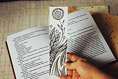 Papiernictvo - Záložka do knihy - Zakvitnutá - 9696405_