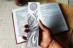 Papiernictvo - Záložka do knihy - Zakvitnutá - 9696406_