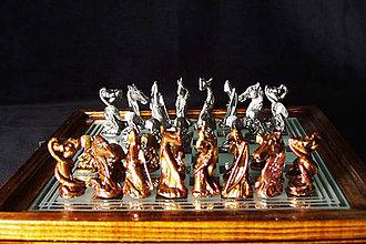 Socha - Gotické šachové figury - 9696852_