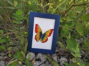 Obrázky - Sklenený obrázok v drevenom rámiku - 9696914_