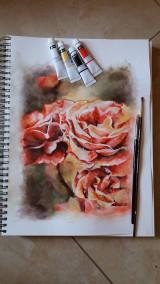 Obrazy - v záhrade - 9698025_