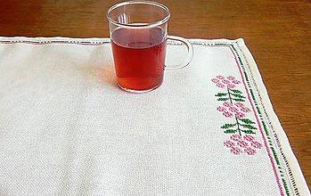 Úžitkový textil - Vyšívané prestieranie - jarné (3) - 9697361_