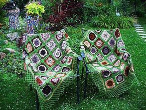 Úžitkový textil - Poľovnícke sedenie, deka - 9696949_