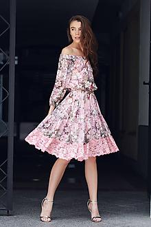 Šaty - Šaty šípová ruža - 9701423_
