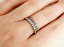 Prstene - 925 sada strieborných prsteňov Donna - 9699409_