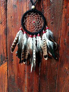 Dekorácie - Lapač snov - indian dream - 9699873_