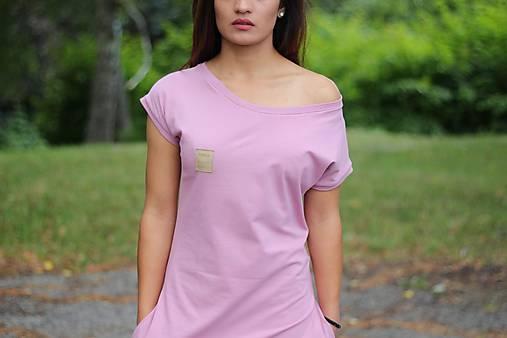 """Šaty - Šaty bio-úplet """"Pink baby"""" - 9700023_"""