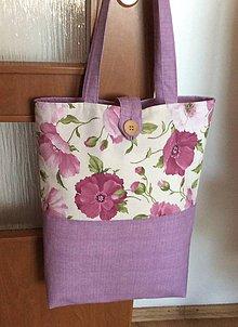 Nákupné tašky - taška fialová - 9699059_