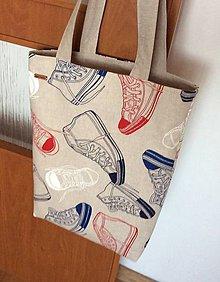 Nákupné tašky - taška tenisky - 9701036_