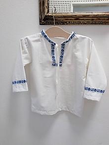 Košele - Folklórna košeľa - 9699651_
