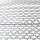 Textil - sašiko vlnky, 100 % bavlna Francúzsko, šírka 160 cm - 9699082_