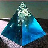 - Silikónová forma- pyramída (6x6x6cm) - 9699962_