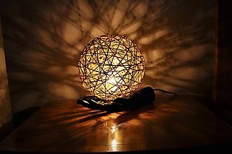 """Svietidlá a sviečky - lampa """"recy-art deco"""" II - 9701089_"""