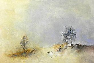 Obrazy - Svitanie pod brezami - 9699746_