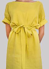 Šaty - Robe de Lin II - 100% ľan - 9700070_