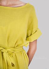 Šaty - Robe de Lin II - 100% ľan - 9700071_
