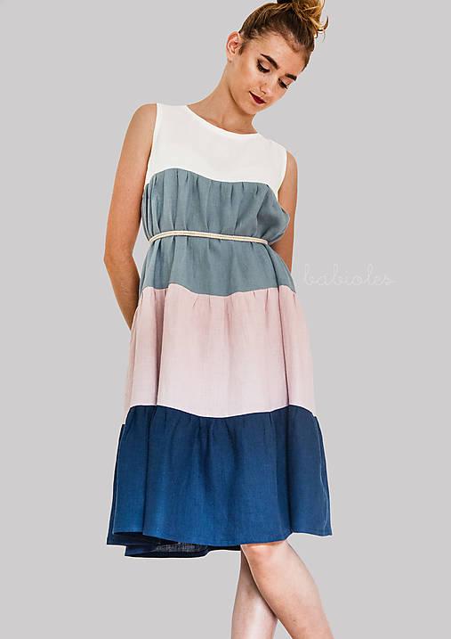 Šaty - Robe de Lin - 100% ľan - 9699568_