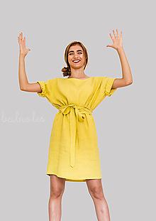 Šaty - Robe de Lin II - 100% ľan - 9700068_