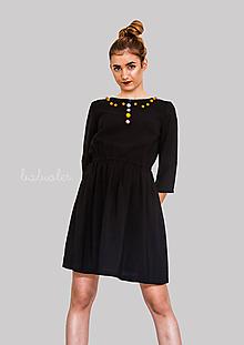 Šaty - Robe de Bal - 100% ľan - 9700166_