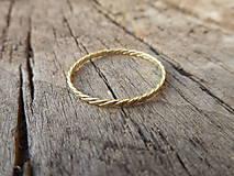 Prstene - Filigránik plochý - 9699218_