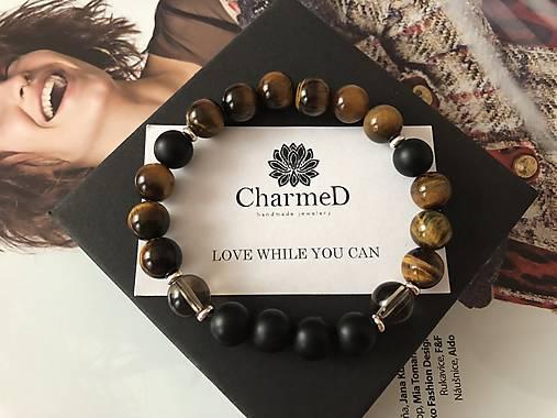 Liečivý mužský náramok / Healing Fertility Chakra Bracelet