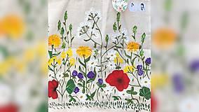 Nákupné tašky - ♥ Plátená, ručne maľovaná taška ♥ - 9701065_