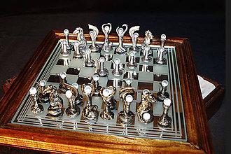 Sochy - Moderné šachové figúry - malé - 9699889_