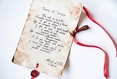 - Pergamen na želanie v španielčine - 9701238_