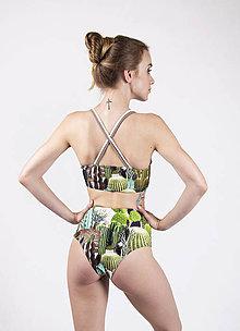 Bielizeň/Plavky - Cactus garden - 9700386_