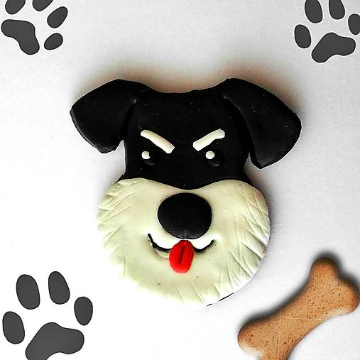 Psie magnetky (bradáč)