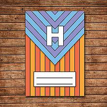 Papiernictvo - Random zápisník 1 - trojuholník - 9701483_