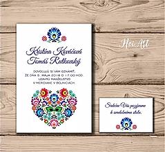 Papiernictvo - Svadobné oznámenie 57 - 9703347_