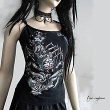 Tričká - Letné tričko s potlačou - 9702695_