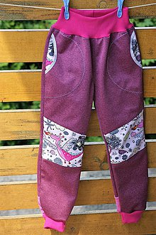 Detské oblečenie - Softshellové nohavice s tvarovanými kolenami  (Softky s tvarovanými kolenami) - 9702811_